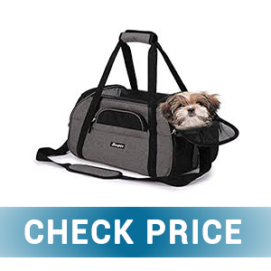 Topped Portable Soft Pet Carrier